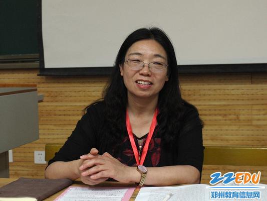 工会主席李风云讲学习纪律