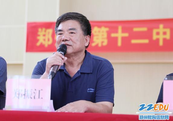 河南省全民国防教育中心参谋长郑振江教育