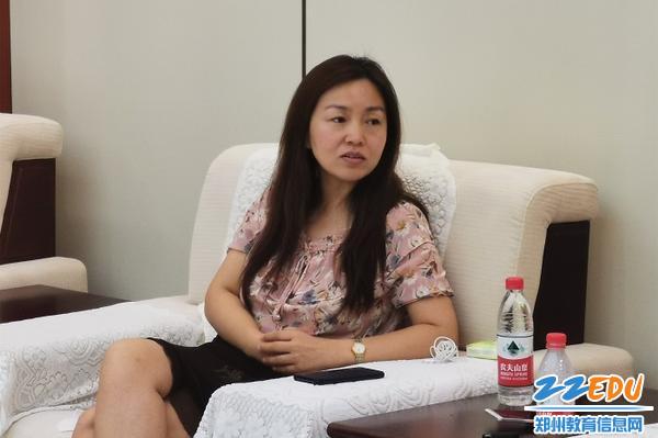 2-8月13日,副区长于珊演练后总结问题