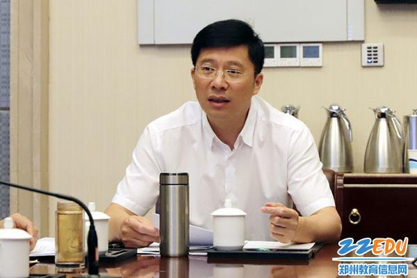 03校长张好武领学《郑州52中2019—2020学年工作要点》