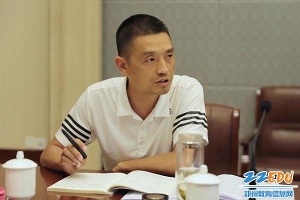 08副校长姚华伟点评处室计划