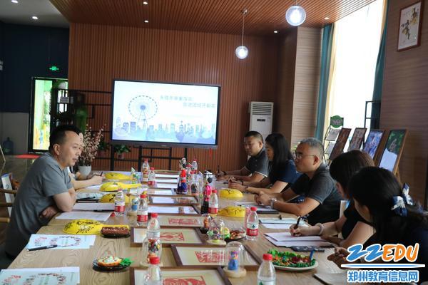督导组对郑东新区民族运动会宣传氛围营造工作表示肯定