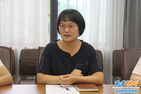 08工会主席高伟兵要求青年教师用高站位引领工作