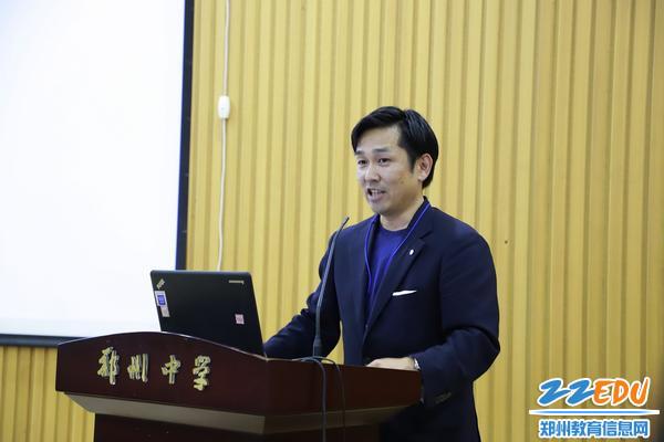 3学校法人金刚学园理事长、樱花高中校长石井航太郎