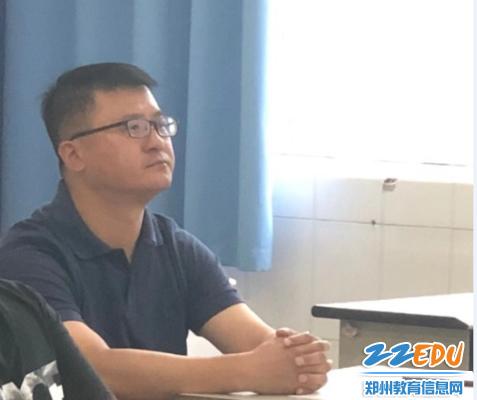 郑州九中纪委书记江炜驻组指导