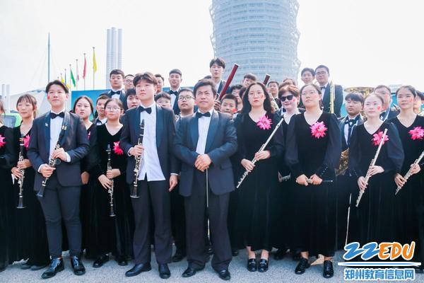 管乐团合奏《我和我的祖国》