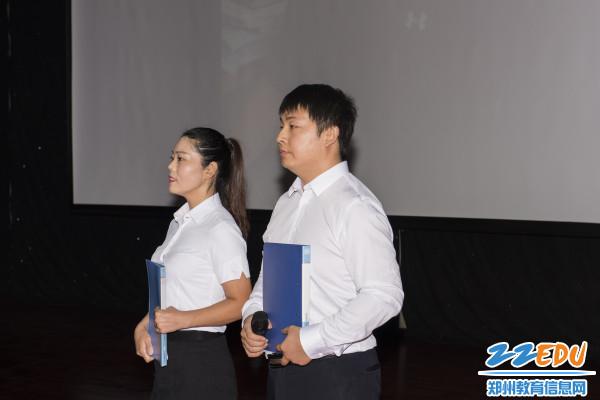 文舜、张池老师诗朗诵《我的教师梦