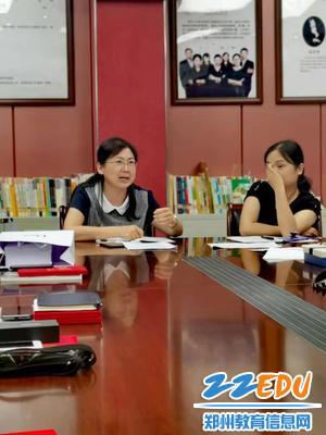郑州八中副校长刘莘做最后总结