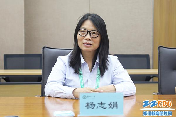 4杨志娟书记亲切询问运动员在郑州的生活和比赛情况