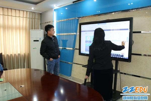 中央电教馆培训中心主任刘峰亲自进行指导