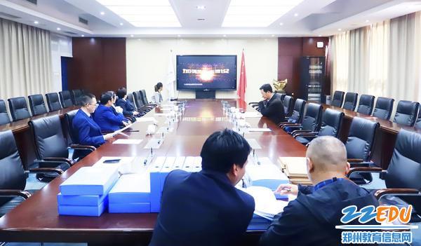 2019年全国文明校园创建工作年审检查组到郑州47中检查验收