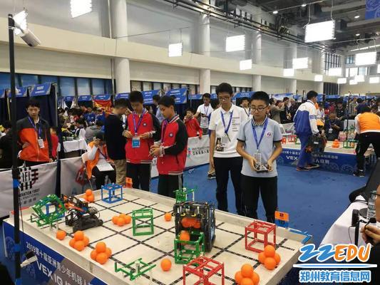 2、VEX-IQ机器人比赛赛场