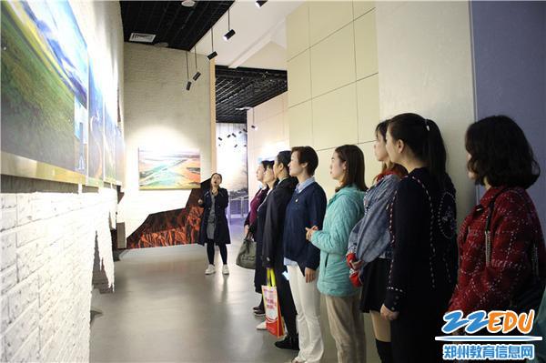 2.参观流域地理展厅