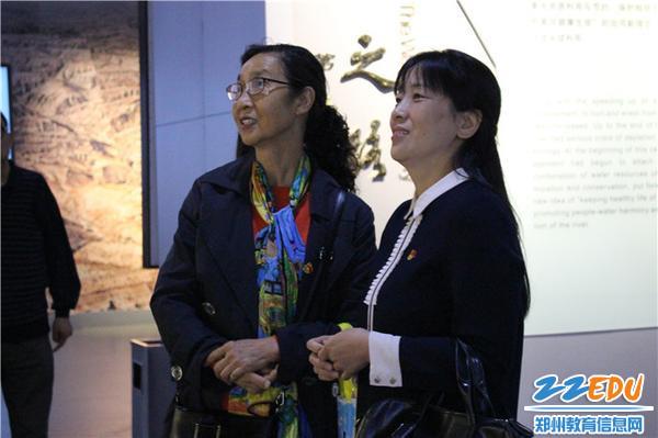8.党支部书记、园长陈春和退休老干部交流学习感悟
