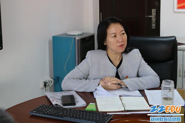 党委书记易峰做总结讲话