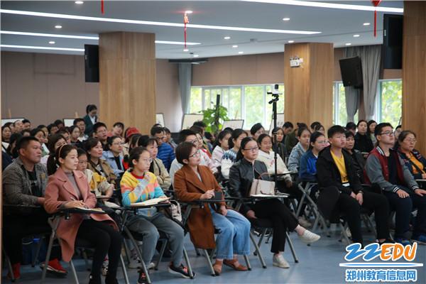 教师、家长、初三年级学生及辖区居民共200余人参加活动