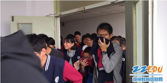 兴华中学校区应急疏散演练