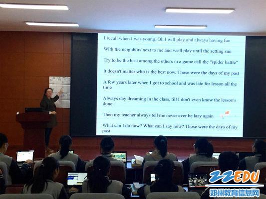 """1 郑州34中成功开展""""英语学科比学观摩课""""活动_看图王"""