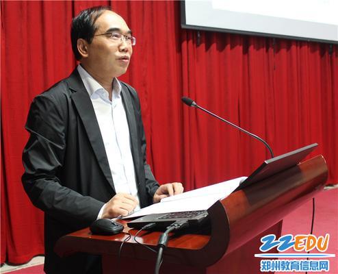 2.郑州市学前教育集团理事长、郑州幼专校长杨俊良致辞