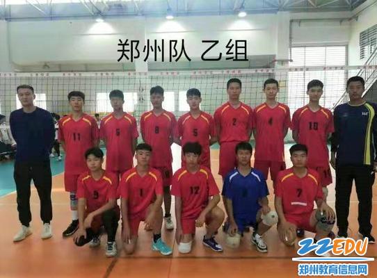 郑州代表队乙组全体成员