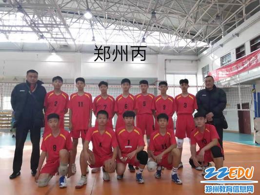 郑州代表队丙组全体成员