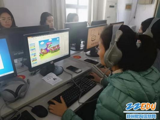 参赛教师精心设计动画_调整大小
