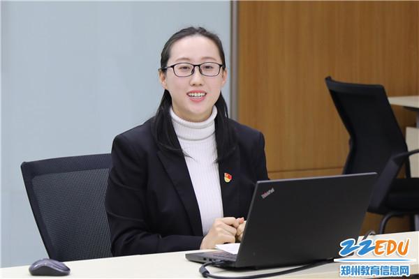 郑州11中优秀教师王晓旭做经验交流分享