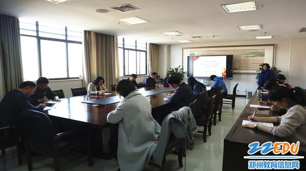 11月18日,市教科所组织全体党员参加主题教育理论知识考试。