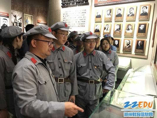 参观毛主席纪念馆