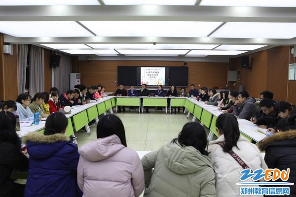 全体青年教师认真研究讨论职业发展规划_meitu_1