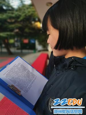 学生代表王康羽进行主题演讲 (1)