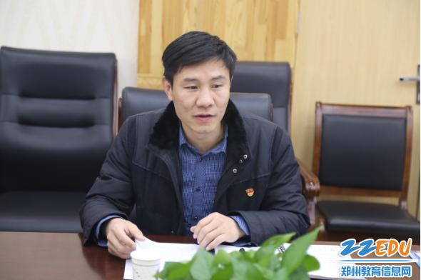 王春前副校长做开题报告