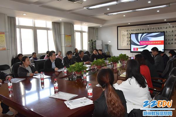 """3 郑州42中坚持""""开门搞教育、上门听意见"""",广泛征求家长意见"""