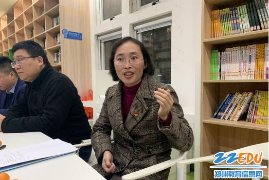 郑州金沙澳门官网4066中纪委书记程静给同学们建议