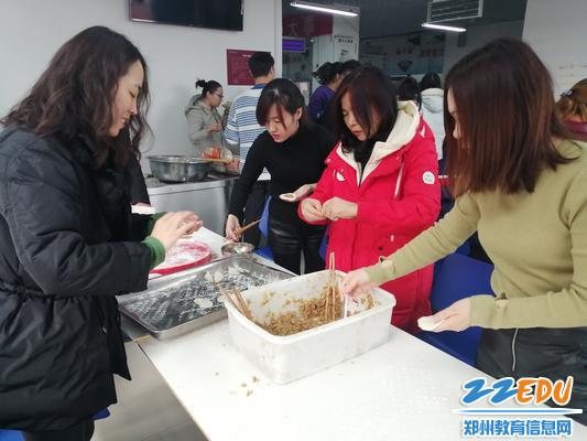 享受包饺子的过程