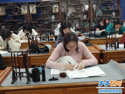 英语考试进行中1