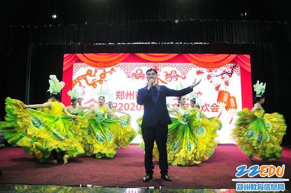 陈刘杰老师歌伴舞《向往》