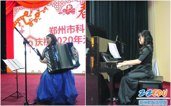 李亚茜、薛锦濛老师合作表演《查尔达什舞曲》
