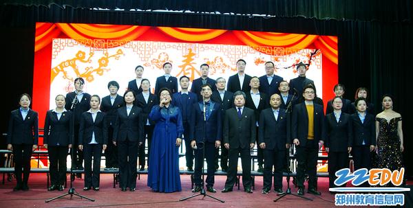 教工合唱团演唱《不忘初心》
