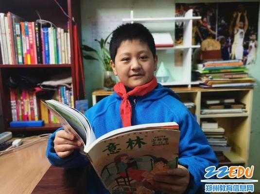 郑州八中学生李承泽生活照
