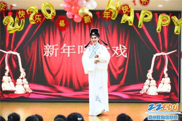 """1.郑州市实验幼儿园举办""""新年唱大戏""""活动"""