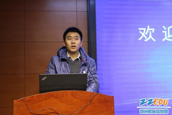 郑州市蕉蔟局办公室刘敬军副主任 解说查核程序