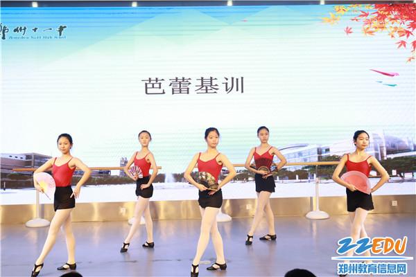 2芭蕾舞基训表演风格性组合展示