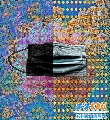 9宋振英老师作品:数字版画《隔离计划》