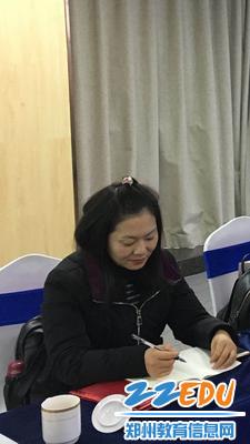 3郑州市关工委教育指导中心专家委员陈艳开展心理疏导网络公益讲座