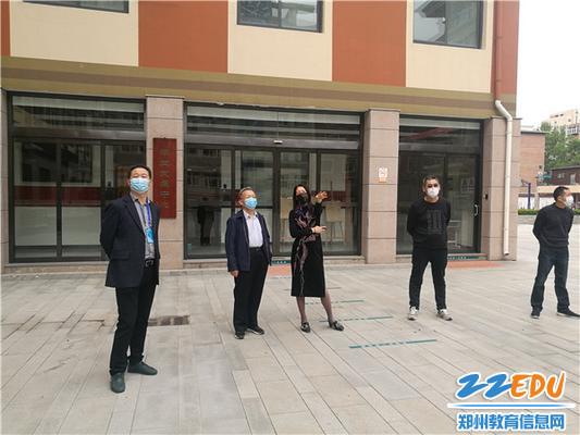 郑州34中党委书记、校长易峰详细汇报九年级复学情况