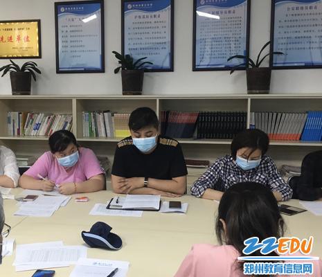 八年级语文备课组长王洪涛分析学生情况