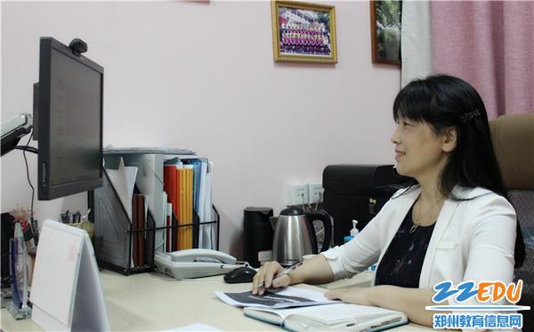 3.郑州市教工幼儿园书记、园长陈春支持召开网络家长会