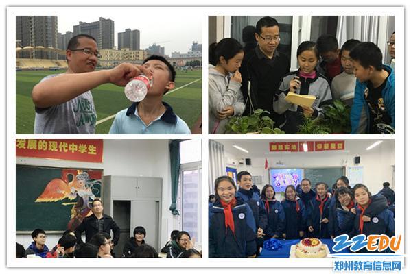 6杨福伟老师和同学们在一起