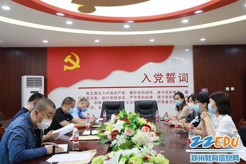 河南省省会反恐办到郑东新区外国语中学督导检查